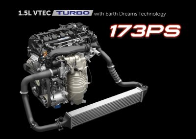 1.5L VTEC Turbo with Earth Dreams technology