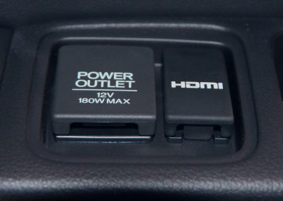 3rd Row Power Outlet with HDMI Port