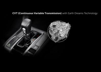 CVT with Earth Dreams Technology