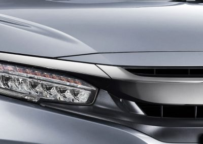 Full LED Headlight with LED Daytime Running Light