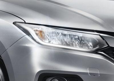 Full LED Headlight with LED Daytime Running Light