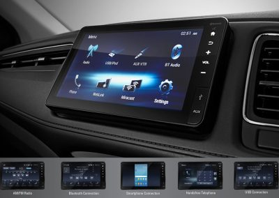 """NEW Advanced 8"""" Floating Capacitive Touchscreen Display Audio"""