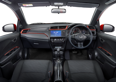 New Sporty Dashboard Design with Orange Lining (Tipe RS)