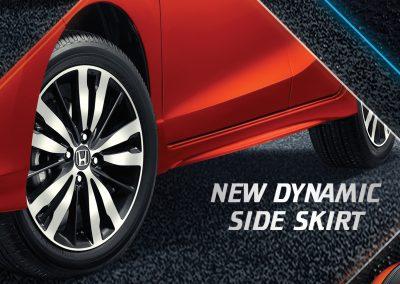New Dynamic Side Skirt