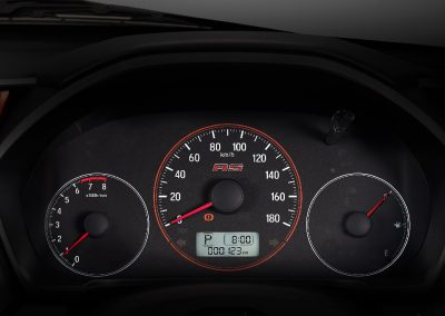 Sporty Meter Cluster with RS Logo