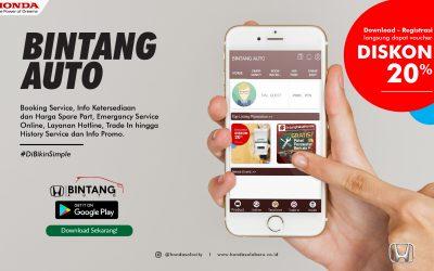 Aplikasi Bintang Auto, Sarana Terkini untuk Kemudahan Akses Pelayanan Dealer Honda Solo Baru