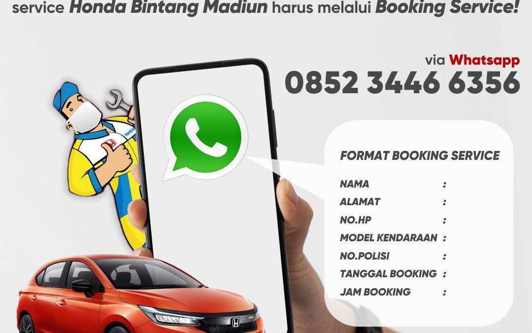 PPKM Darurat, Service Harus Booking Online!