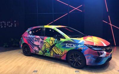 Honda City Hatchback RS Penuh Grafity