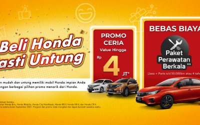Program September : Beli Honda Pasti Untung