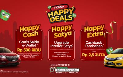 Promo Honda Happy Deals Madiun